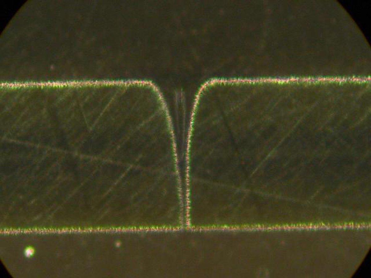 NanoVia 25 Micron Thick Polyimide 1 Micron Exit